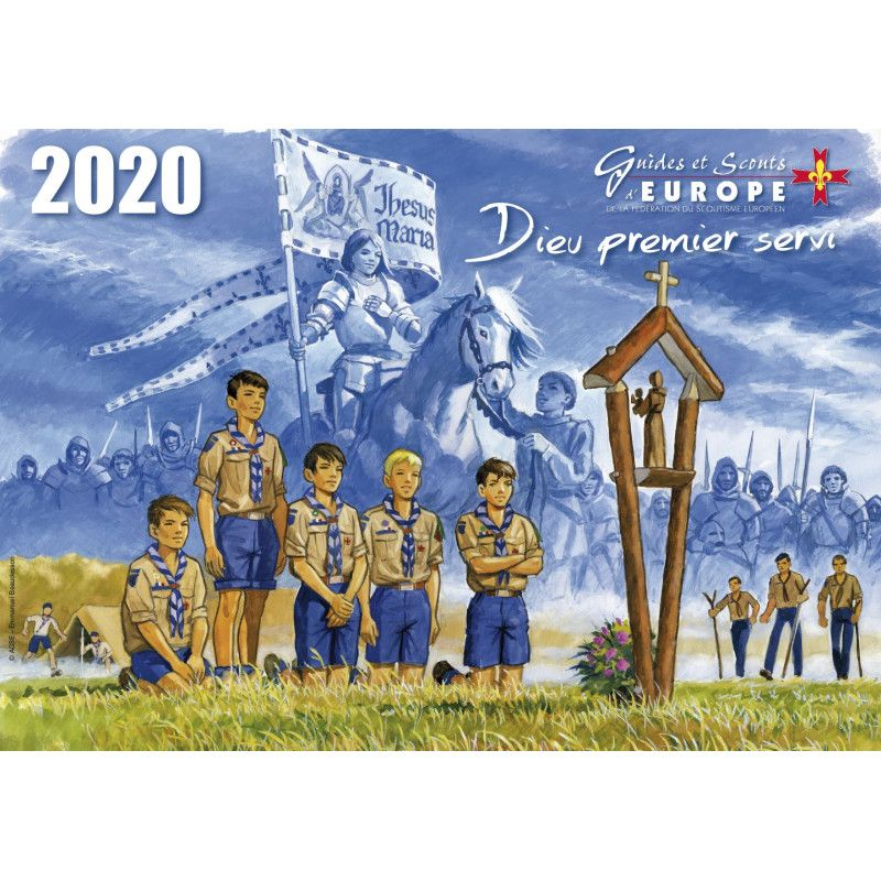 calendrier scout 2019